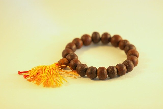 un bracelet tibétain